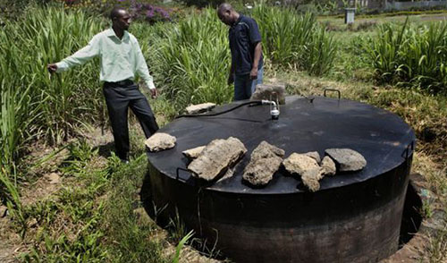 Zimbabwe's rural dwellers turn to biogas for energy